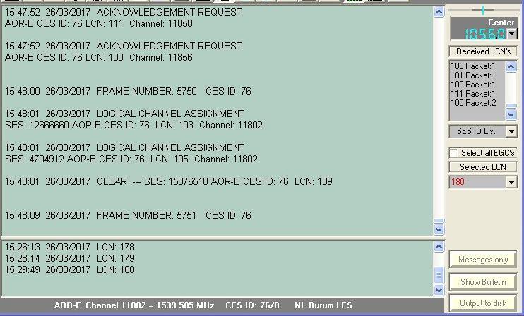 Inmarsat-C TDMA et ACARS  170327102837490926