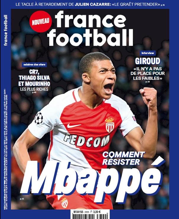 télécharger France Football N°3699 Du 28 Mars 2017