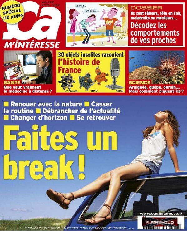 télécharger Ça M'intéresse N°378 - Faites Un Break !