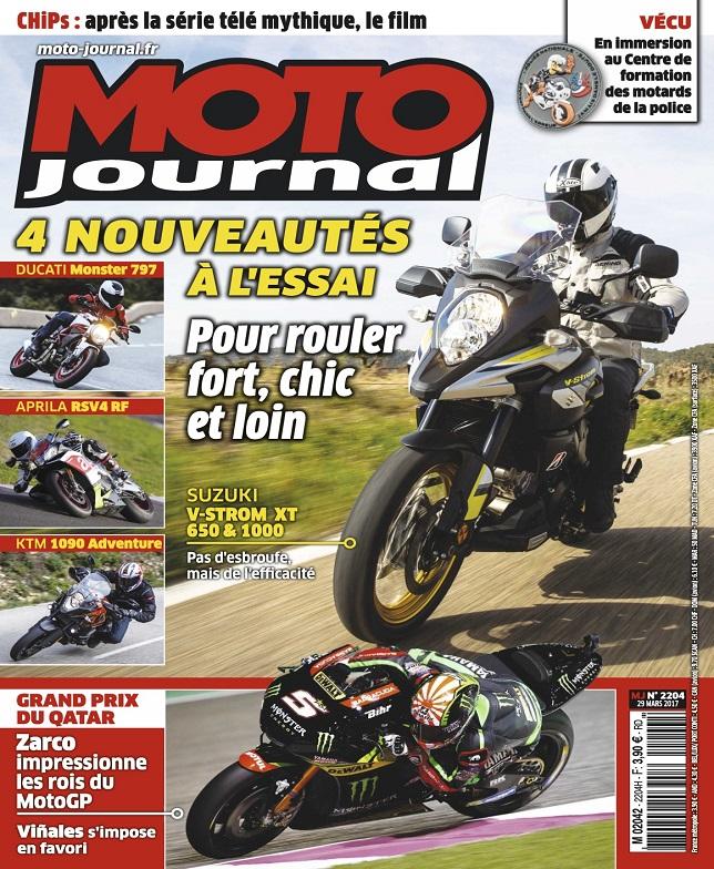 télécharger Moto Journal N°2204 Du 29 Mars 2017