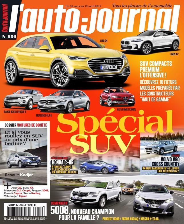télécharger L'Auto-Journal N°980 Du 30 Mars au 12 Avril 2017