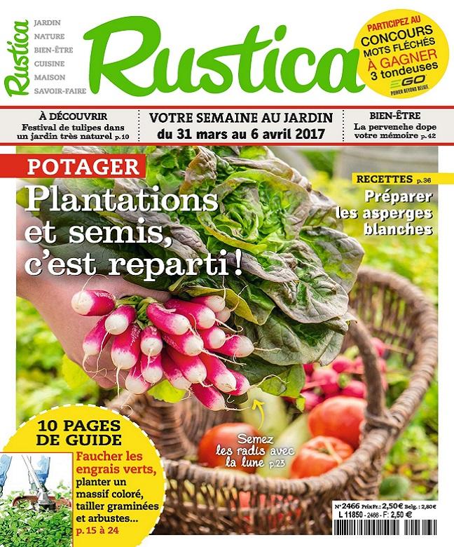 Rustica N°2466 Du 31 Mars au 6 Avril 2017