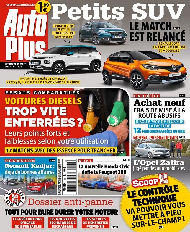 télécharger Auto Plus N°1491 Du 31 Mars au 6 Avril 2017