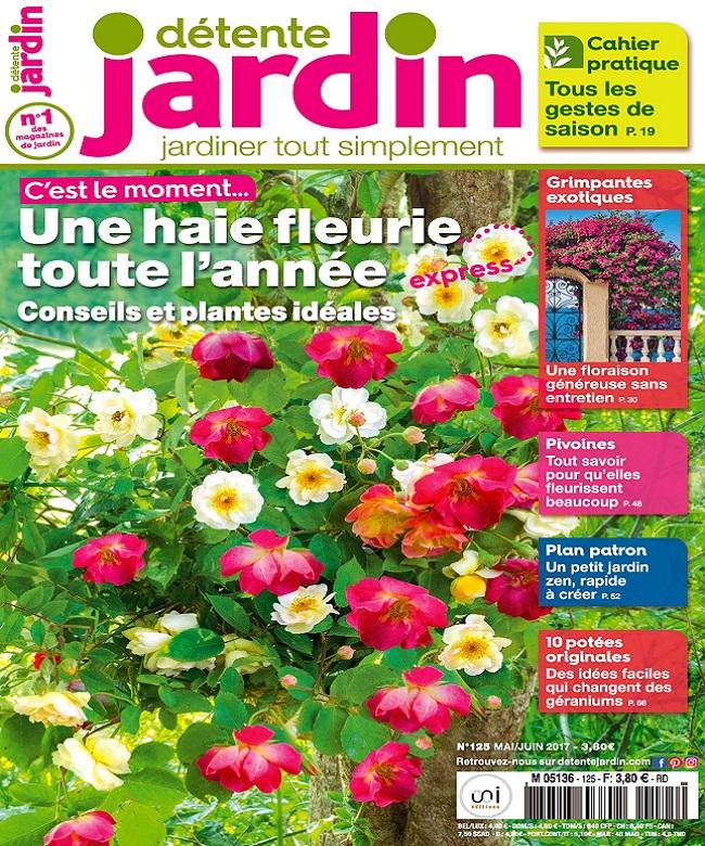 Détente Jardin N°125 - Mai-Juin 2017