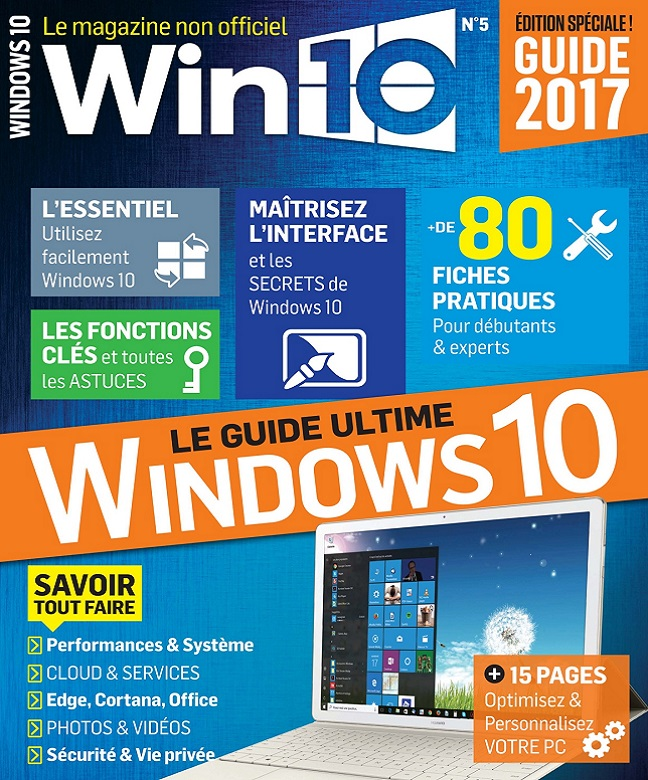 télécharger Win 10 N°5 - Avril-Mai 2017