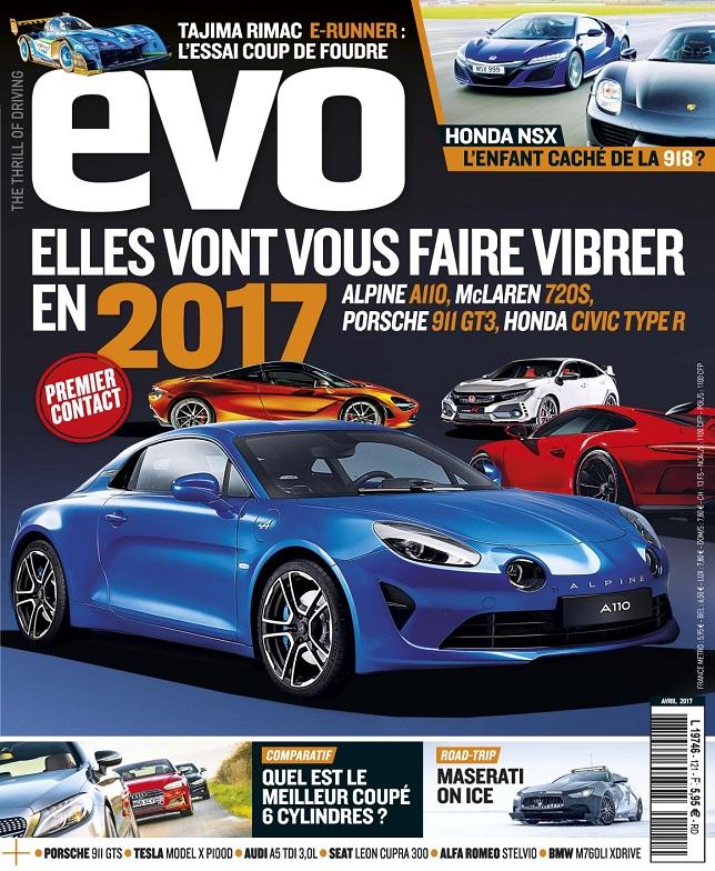 télécharger Evo N°121 - Avril 2017