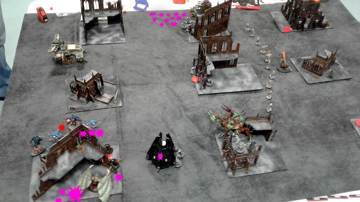 Pair of Aces - Partie 1/4 - Démons/Genestealers vs. Tau/Deathwatch 170401094717292845