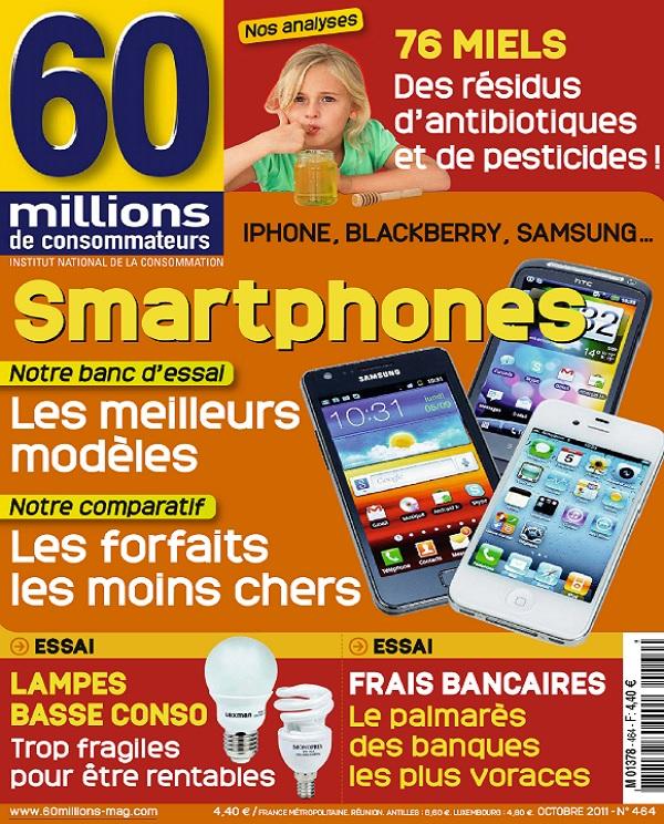 télécharger 60 Millions De Consommateurs N°464 - Les Smartphones