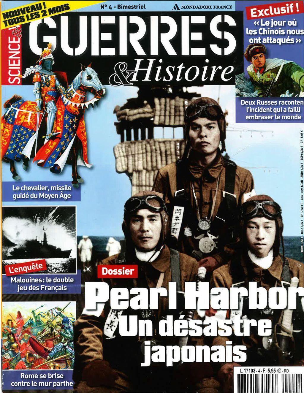 Science & Vie Guerres & Histoire N°4 - Pearl Harbor : Un Désastre Japonais
