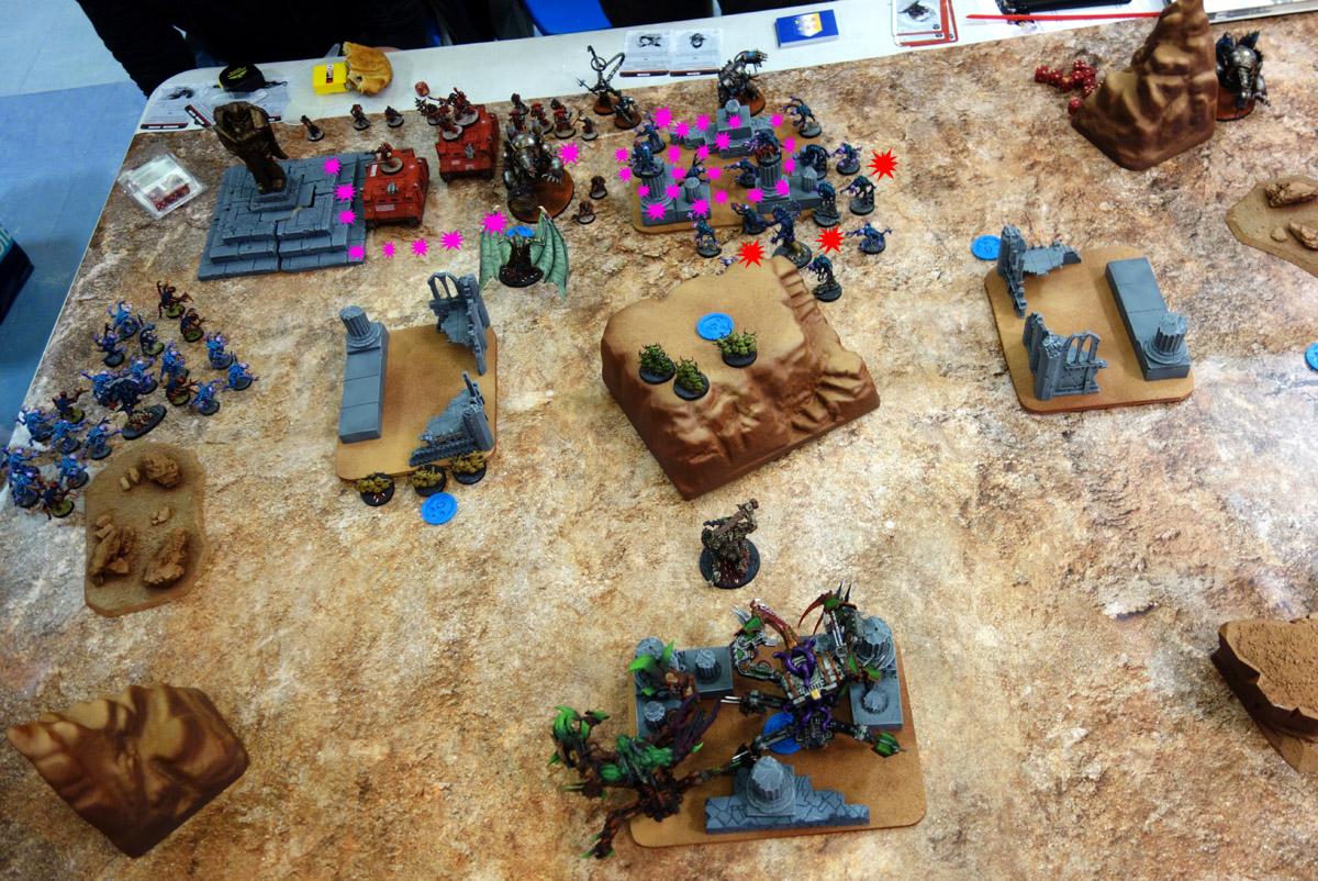 Pair of Aces - Partie 3/4 - Démons/Genestealers vs. Word Bearers/Iron Warriors 170403105815998599