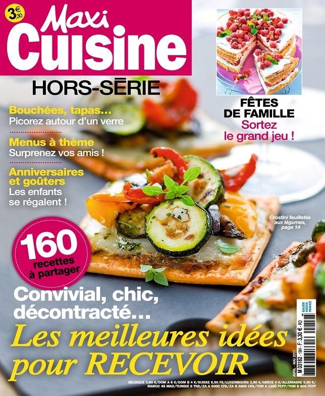 télécharger Maxi Cuisine Hors Série N°19 - Avril-Mai 2017