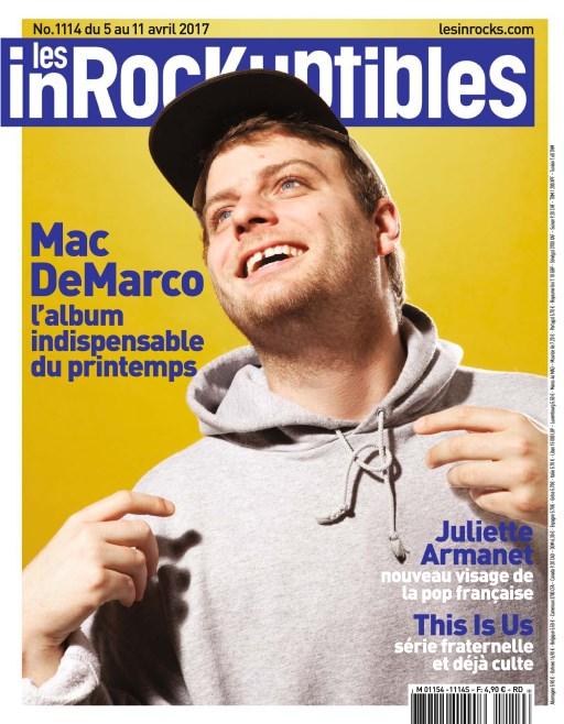Les Inrockuptibles N°1114 - 5 au 11 Avril 2017