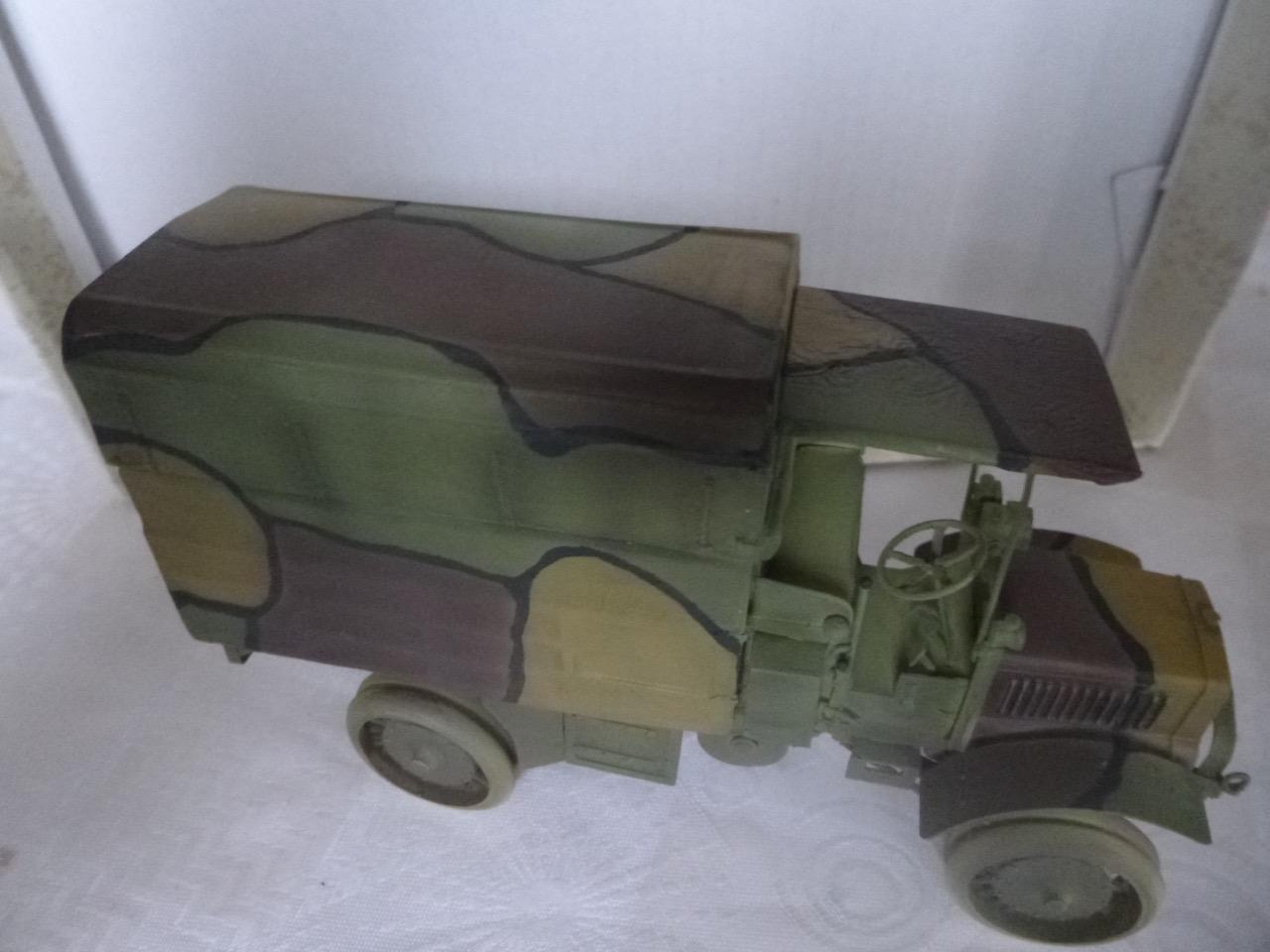 Camion Chatillon Panhard 1917 - résine de chez Blitz au 1/35 - Page 2 170405092534219930
