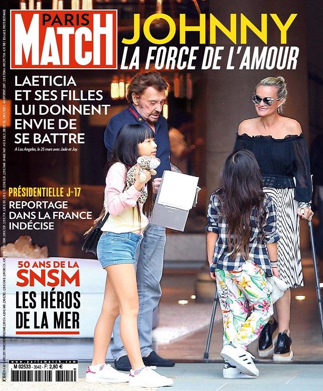 télécharger Paris Match N°3542 Du 6 au 12 Avril 2017