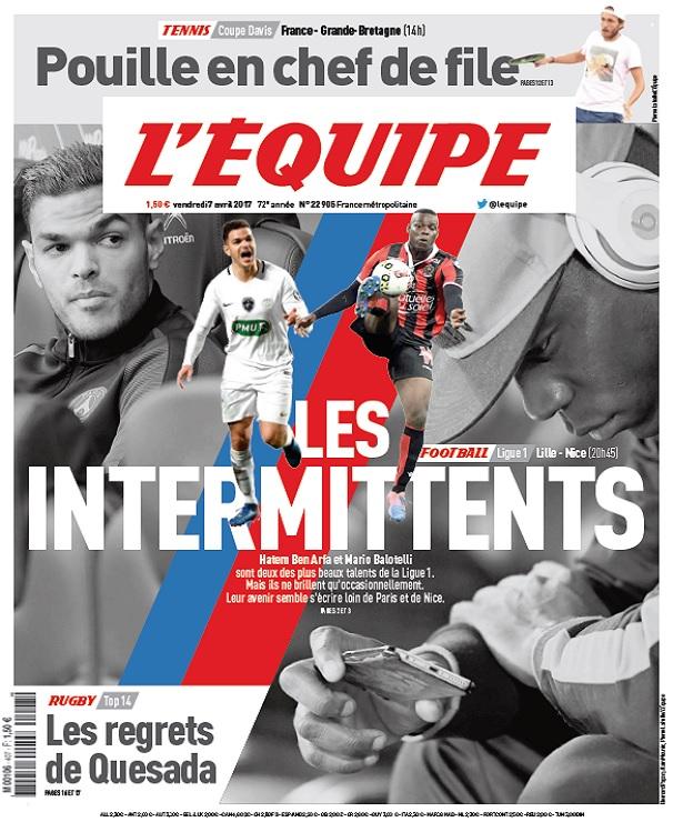 télécharger L'Equipe Du Vendredi 7 Avril 2017