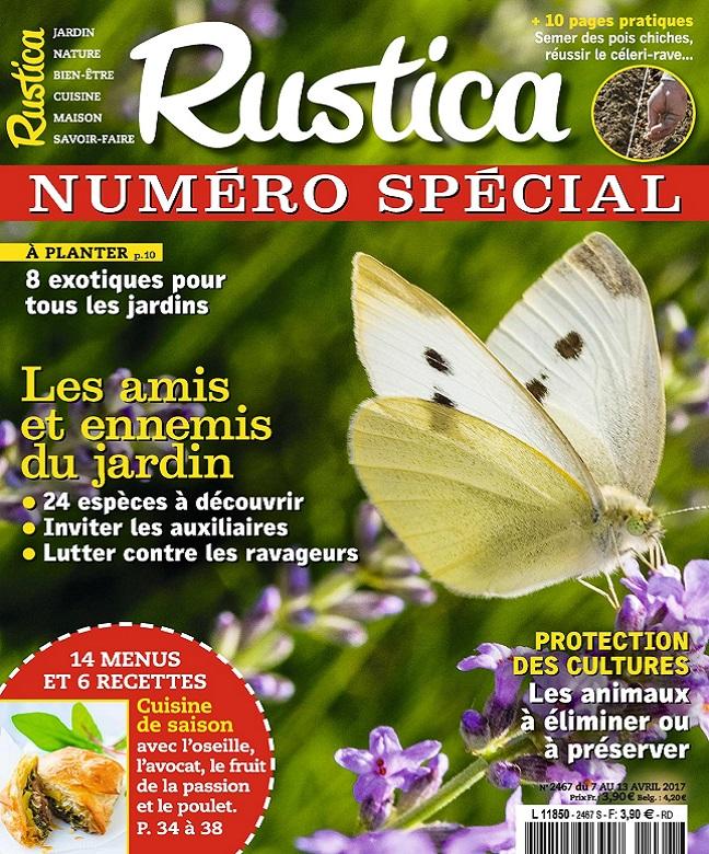 télécharger Rustica N°2467 Du 7 au 13 Avril 2017