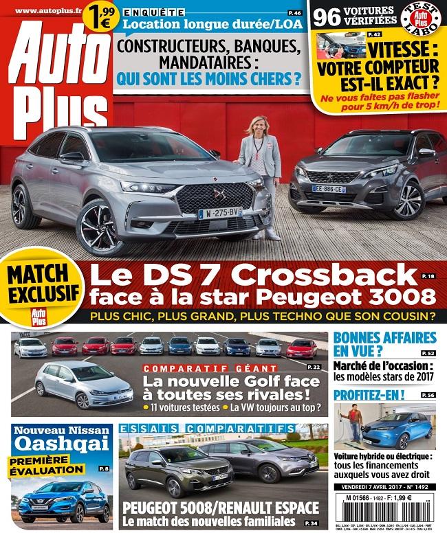 télécharger Auto Plus N°1492 Du 7 au 13 Avril 2017