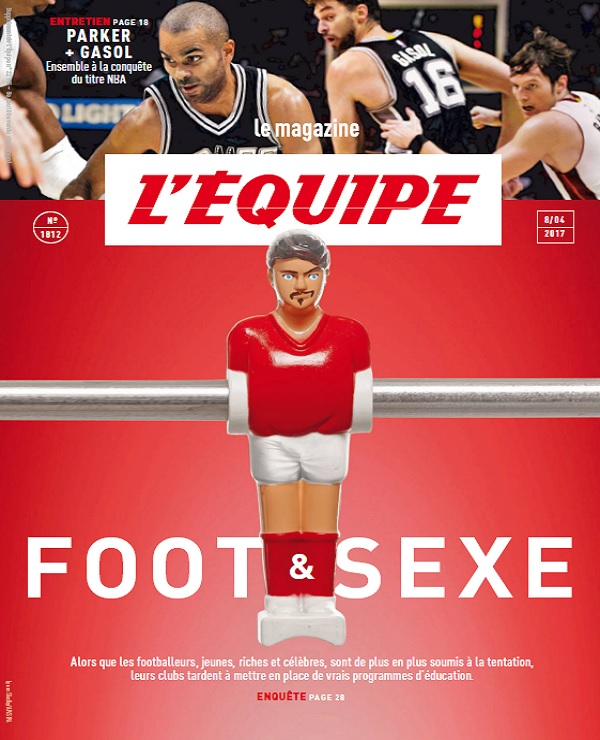 télécharger L'Equipe Magazine N°1812 Du 8 Avril 2017