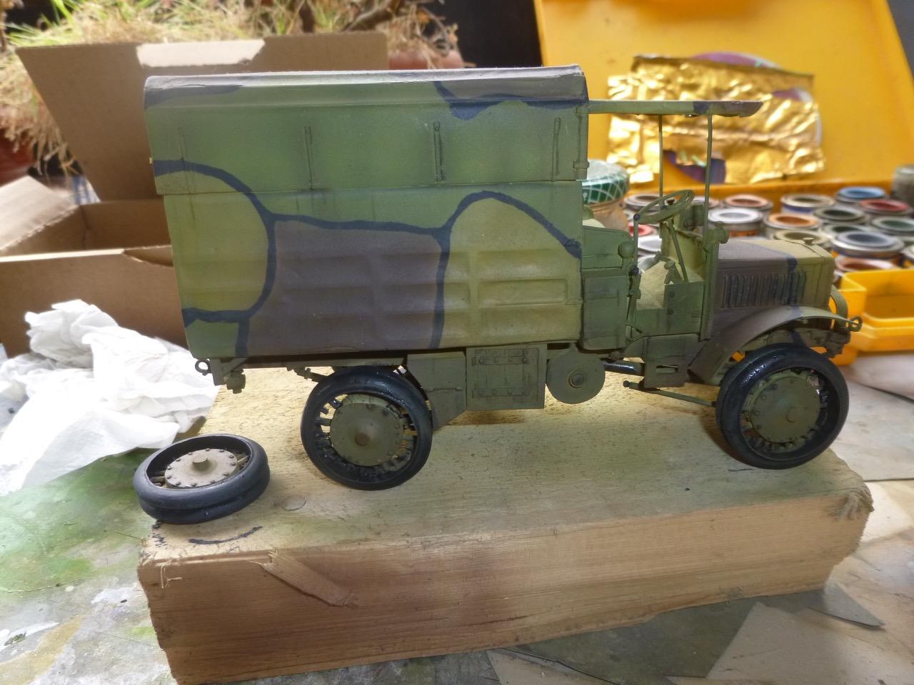 Camion Chatillon Panhard 1917 - résine de chez Blitz au 1/35 - Page 2 170410112347400978