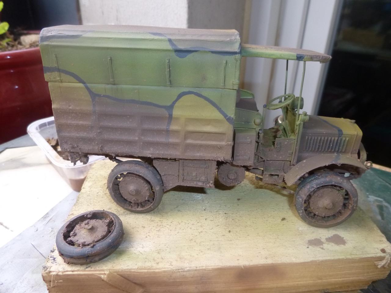 Camion Chatillon Panhard 1917 - résine de chez Blitz au 1/35 - Page 2 170410112410934949
