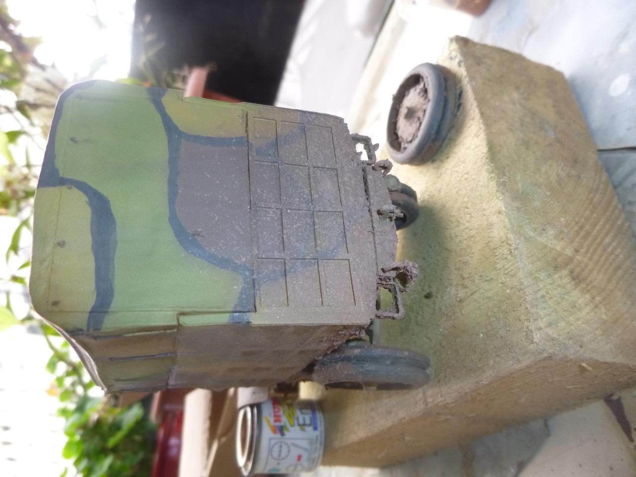 Camion Chatillon Panhard 1917 - résine de chez Blitz au 1/35 - Page 2 170410112518591691
