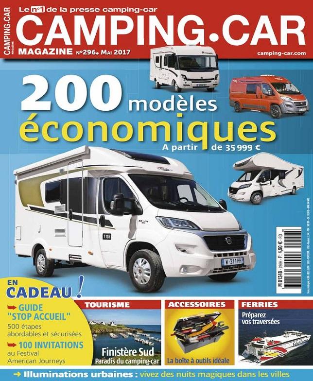 télécharger Camping-Car N°296 - Mai 2017