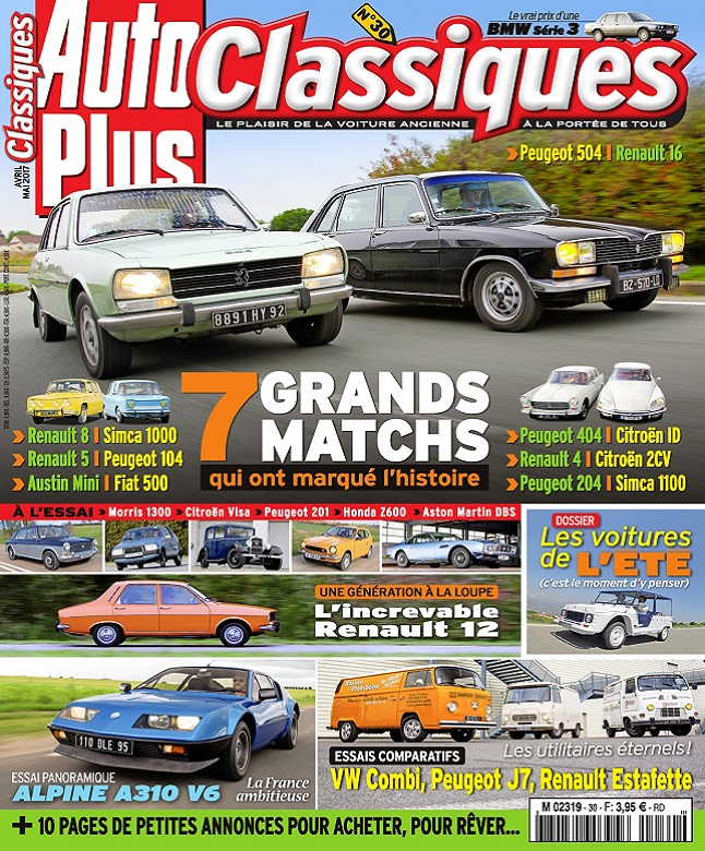 télécharger Auto Plus Classiques N°30 - Avril-Mai 2017