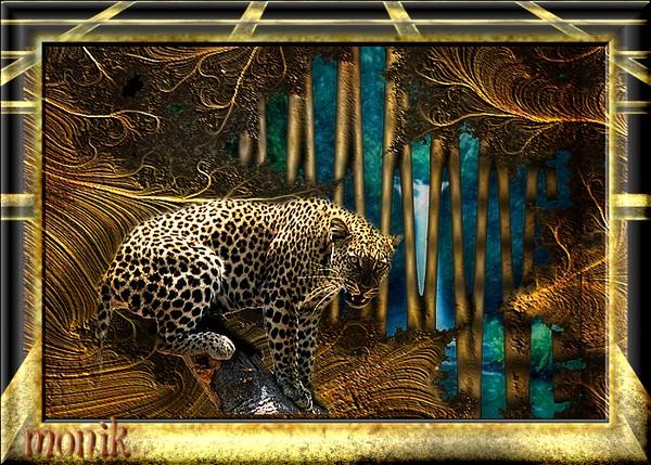 léopard cascade