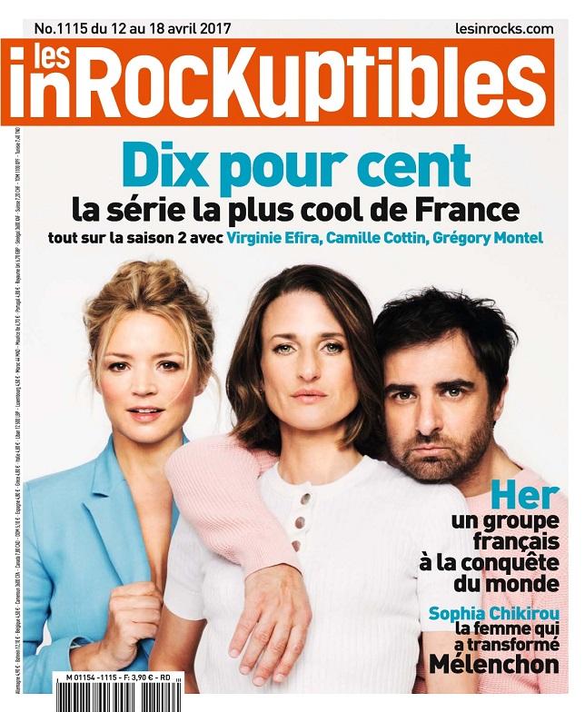 télécharger Les Inrockuptibles N°1115 Du 12 au 18 Avril 2017