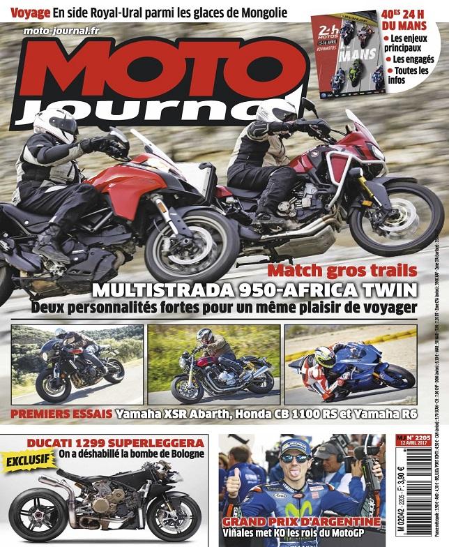 télécharger Moto Journal N°2205 Du 12 Avril 2017