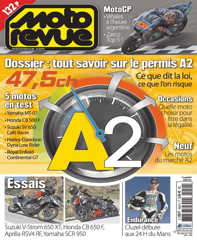 télécharger Moto Revue N°4050 Du 12 Avril 2017