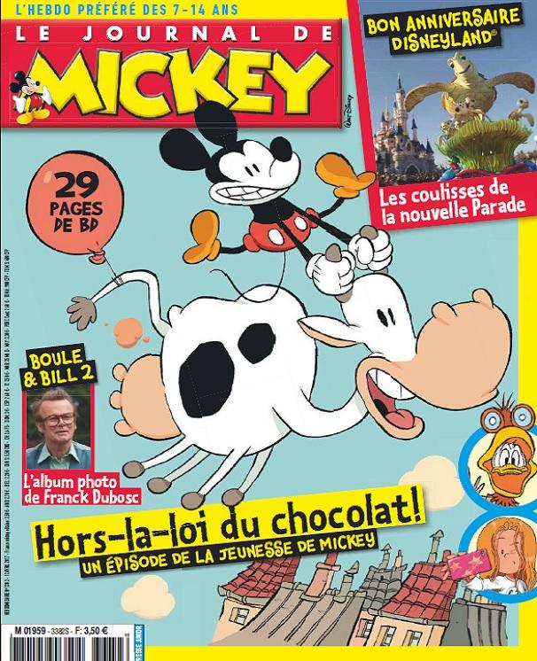 télécharger Le Journal De Mickey N°3382 Du 12 Avril 2017