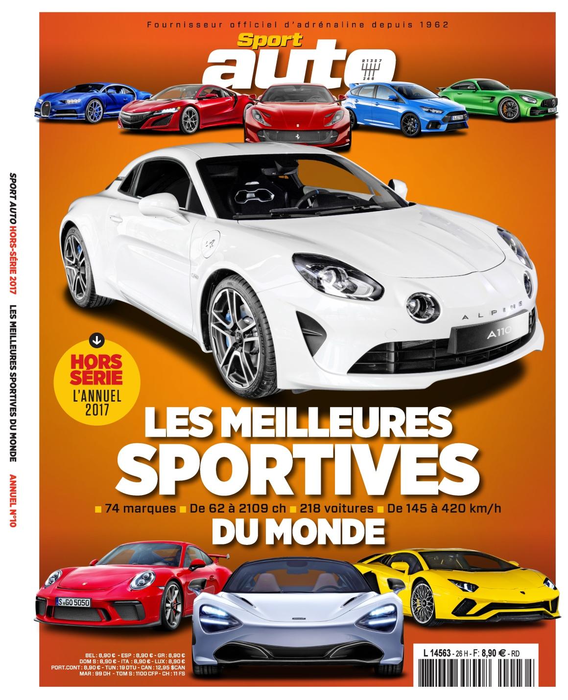 Sport Auto Hors-Série N°26 - L'annuel 2017