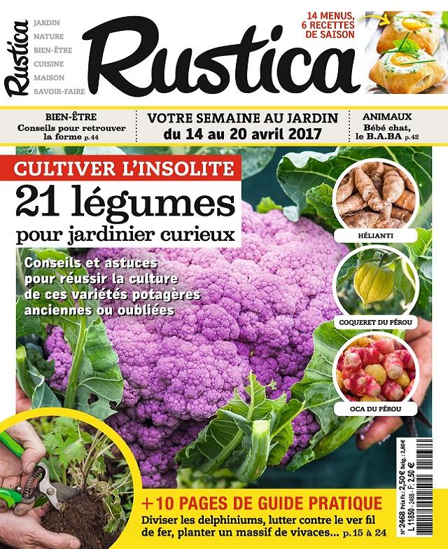 télécharger Rustica N°2468 Du 14 Au 20 Avril 2017