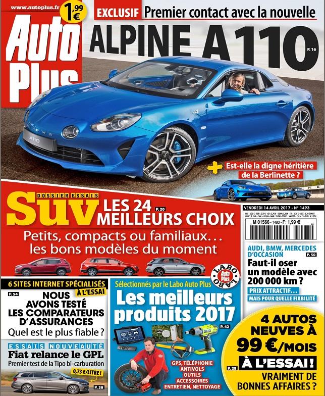 télécharger Auto Plus N°1493 Du 14 au 20 Avril 2017