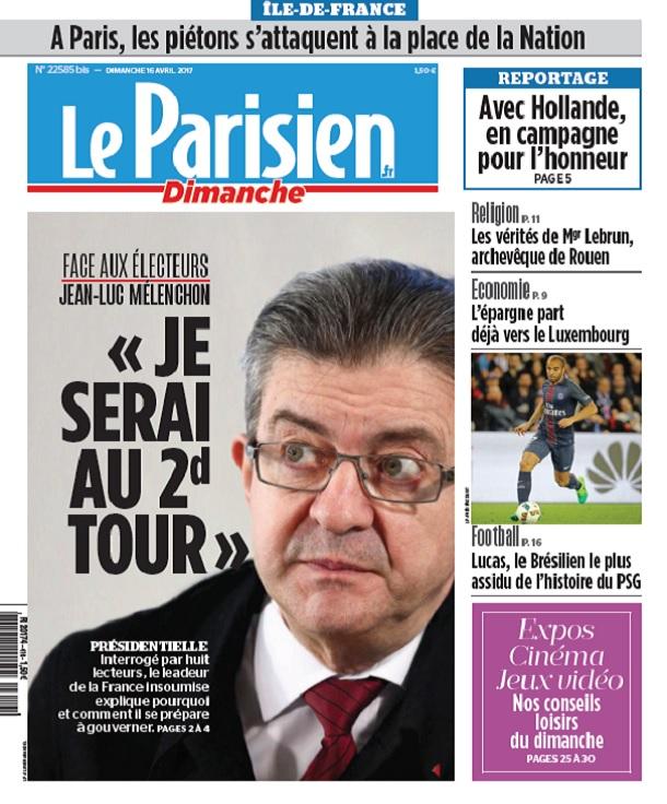 télécharger Le Parisien Du Dimanche 16 Avril 2017