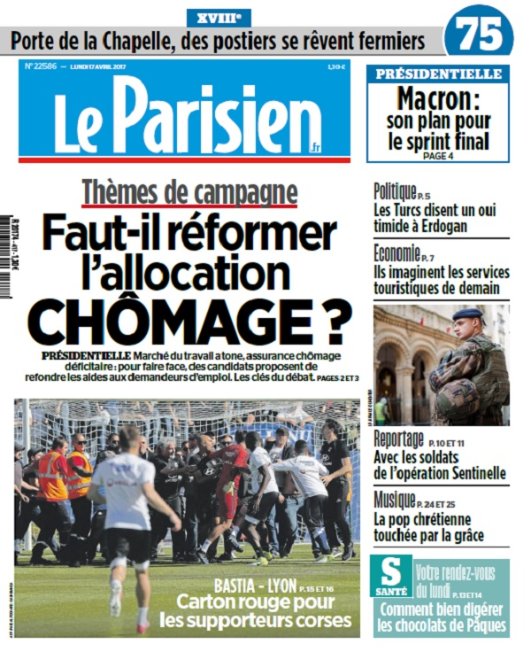 télécharger Le Parisien + Journal De Paris Du Lundi 17 Avril 2017