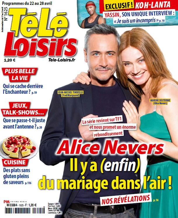 télécharger Télé Loisirs N°1625 Du 22 au 28 Avril 2017