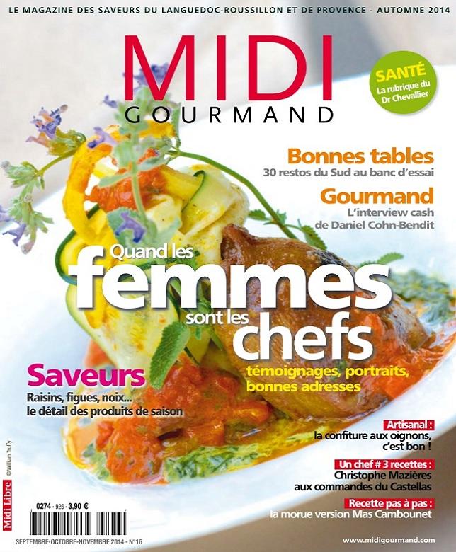 télécharger Midi Gourmand N°16 - Quand les Femmes Sont les Chefs