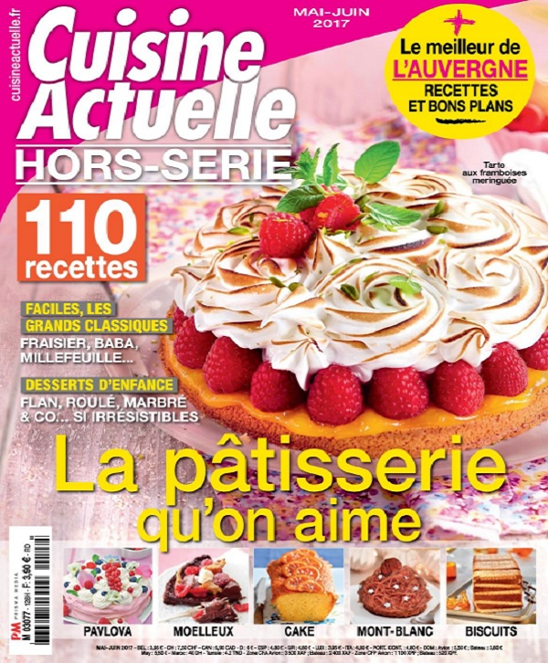 télécharger Cuisine Actuelle Hors Série N°128 - Mai-Juin 2017