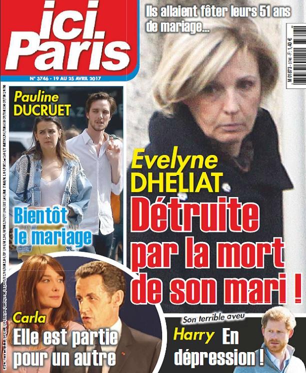 Ici Paris N°3746 Du 19 au 25 Avril 2017