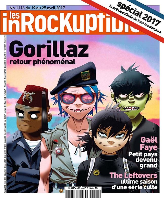 télécharger Les Inrockuptibles N°1116 Du 19 au 25 Avril 2017