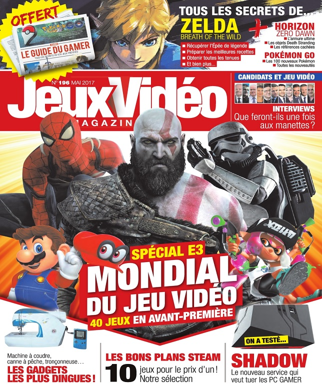 télécharger Jeux Vidéo Magazine N°196 - Mai 2017