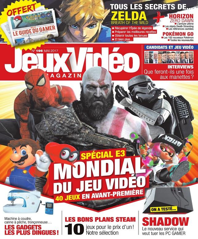 Jeux Vidéo Magazine N°196 - Mai 2017