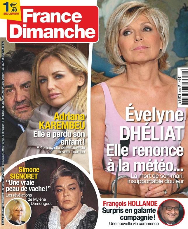 France Dimanche N°3686 Du 21 au 27 Avril 2017