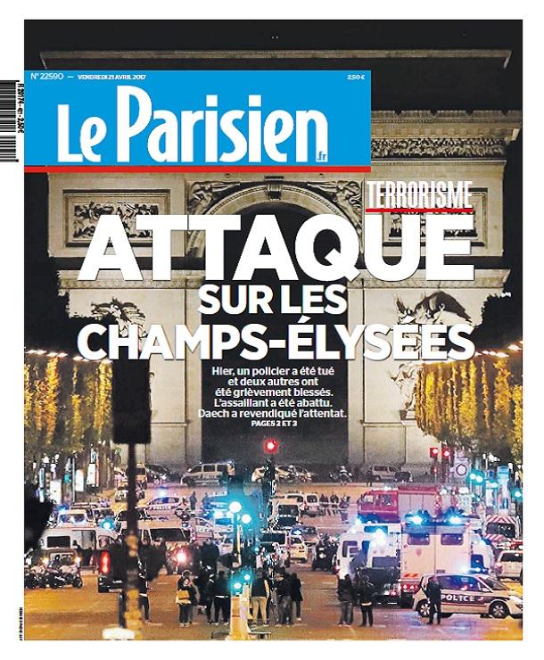 Le Parisien Du Vendredi 21 Avril 2017