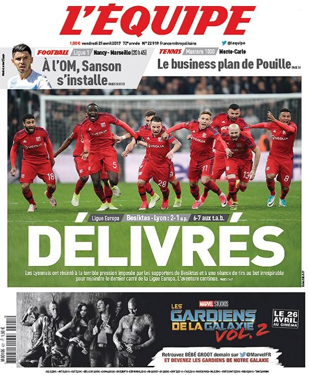 télécharger L'Equipe Du Vendredi 21 Avril 2017