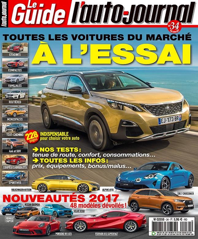 Le Guide De L'Auto-Journal N°34 - Mai-Juillet 2017