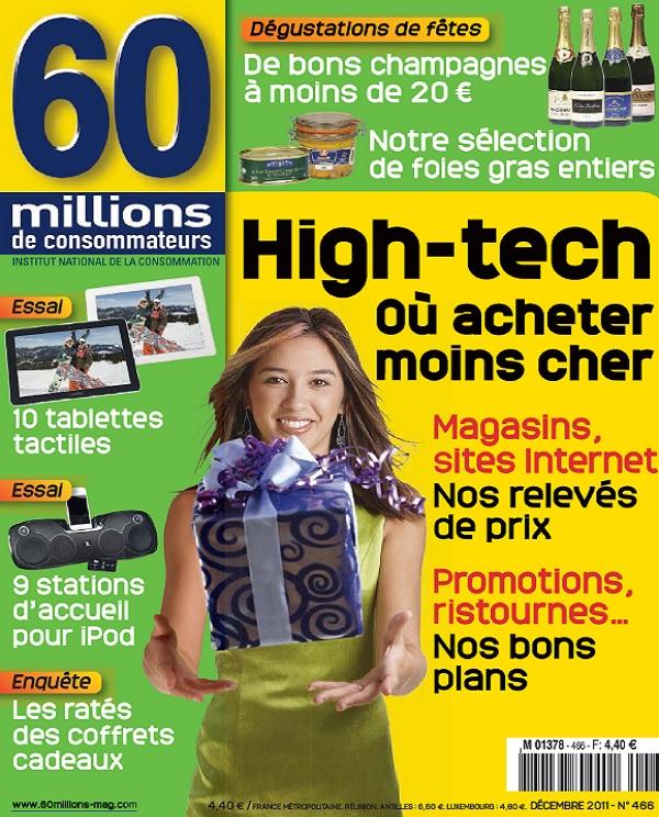 60 Millions De Consommateurs N°466 - High-tech