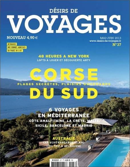 Désirs de voyages N°37 - Corse du Sud
